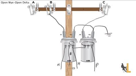 wye delta transformer wiring diagram wye get free image