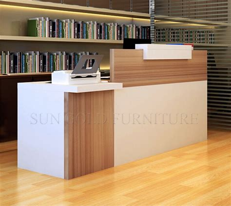 modern reception counter design simple modern front desk counter office reception counter