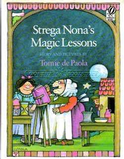 strega nona s magic lessons a strega nona book books tomie de paola系列 strega nona s magic lessons 全新正版產品