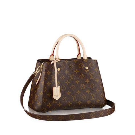 Tas Louis Vuitton Montaigne M41055 montaigne bb monogram canvas handbags louis vuitton