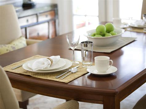 How To Decorate A Kitchen Table How To Refinish A Dining Room Table Hgtv
