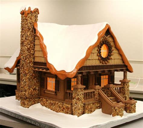 Bread Houses by A Wooden Bread House