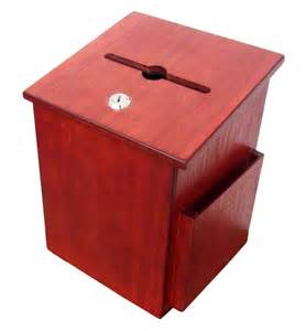 Letter Box Charity Comment Collection Suggestion Box Donation Charity Box