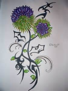 rheana e thistle by d rem tattoos on deviantart