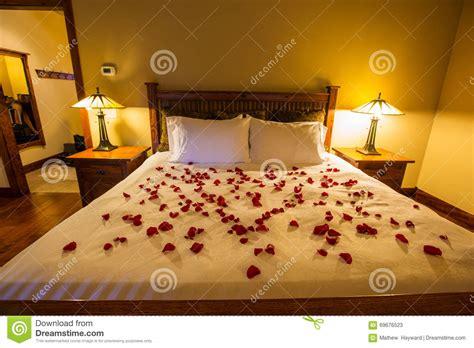 rose petals on bed romantic bedroom rose petals