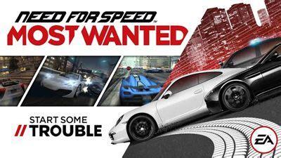 most wanted apk data need for speed most wanted sınırsız para hilesi apk indir