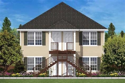 Multi Unit House Plans by Multi Unit House Plans Home Design 2176