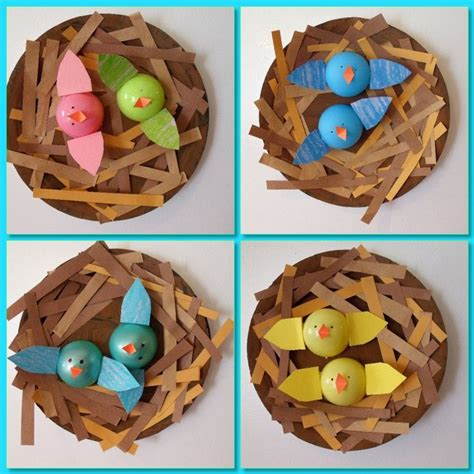 The 21 Best Images About Birds Preschool Crafts - 25 best ideas about bird nest craft on nest