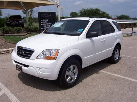 suv kia 2008 white kia sorento used cars in weatherford mitula cars