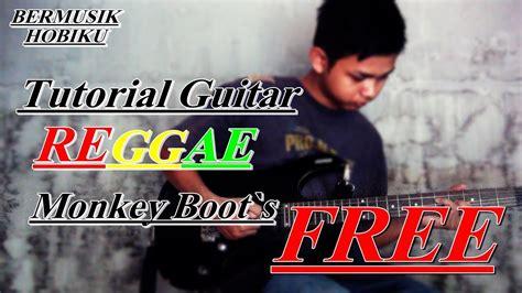 cara bermain guitar jazz cara bermain guitar reggae lagu free cuma 3 kunci youtube