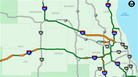 map of toll roads in usa chicago toll roads map chicago tollway map united