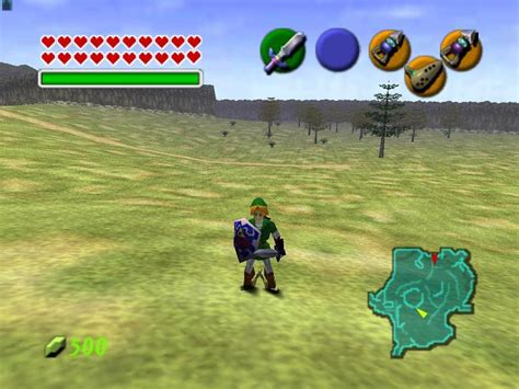 emuparadise n64 legend of zelda the ocarina of time usa rom