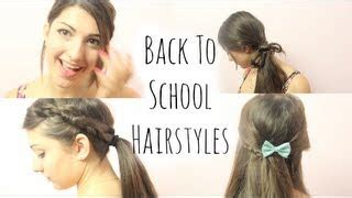 hairstyles for school rclbeauty101 thumbnail
