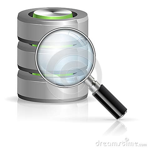 Database Search Search In Database Concept Stock Photos Image 27639003