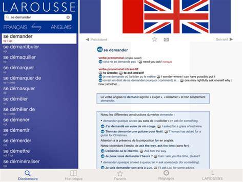 grand dictionnaire danglais 203593513x grand dictionnaire anglais fran 231 ais larousse app voor iphone ipad en ipod touch appwereld