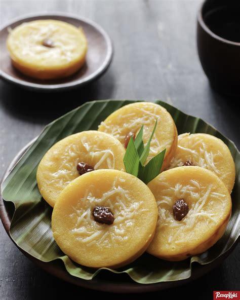 kue lumpur labu kuning lembut  simpel resep resepkoki