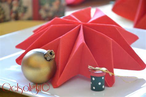 Origami Per Tovaglioli by Piegare I Tovaglioli Per Natale Con Videotutorial Natale