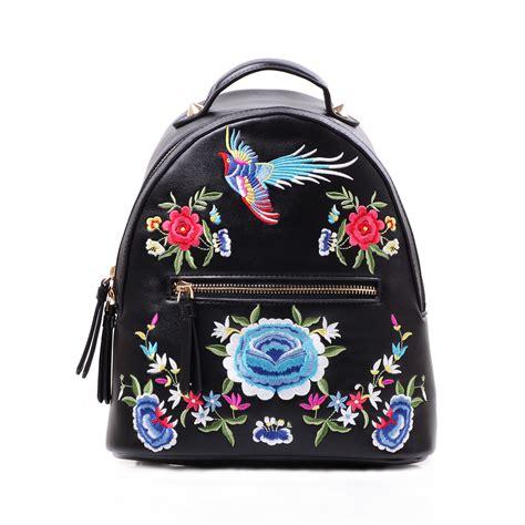 Embroidered Backpack ethnic embroidered backpack for folk bag