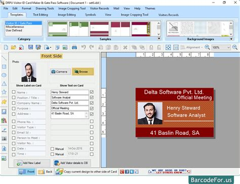 visitors id cards maker for mac screenshots to know how to watch screenshots of visitors id gate pass maker