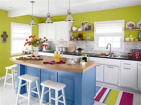 creative kitchen ideas small kitchen islands pictures options tips ideas hgtv