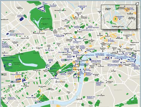 London sightseeing map