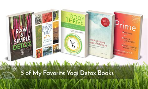 The Detox Book by 5 Of My Favorite Yogidetox Books Yogahealer