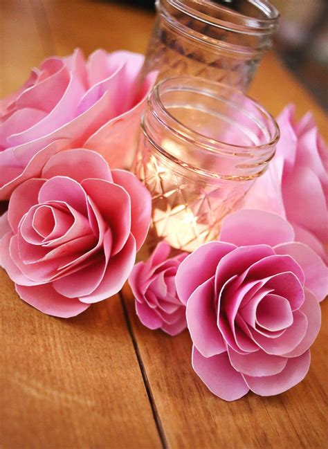 Paper Flower Make - how to make paper flowers a beautiful mess