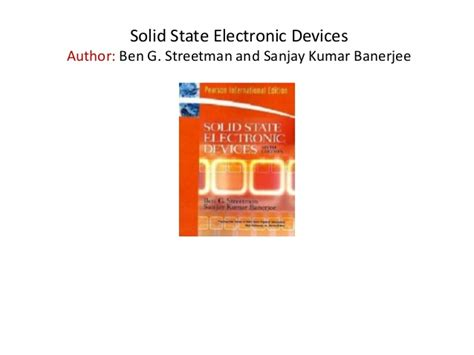 reference book for jam physics solid state electronic devices theory best free home