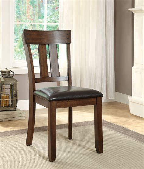Furniture Of America Palister Country Furniture Of America Theron I Country Style Dining Chair Rustic Oak