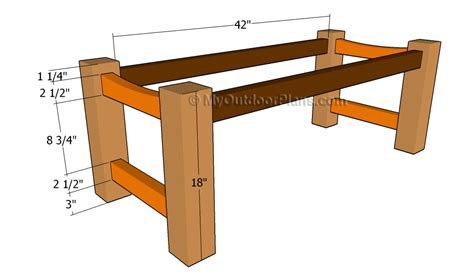 bench frame plans patio bench plans free outdoor plans diy shed wooden