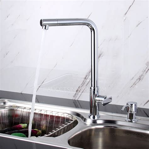 discount seven shaped cold water kitchen sink faucet