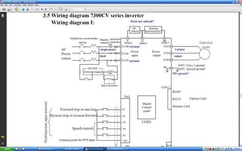 vfd wiring question