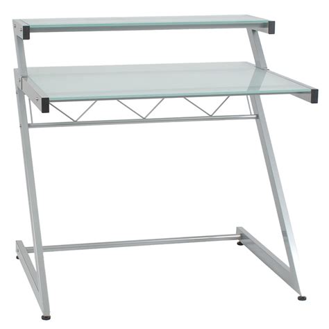 Small Desk Shelf Modern Desks Ziegler Small Desk W Shelf Eurway