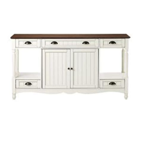home decorators buffet home decorators collection southport 58 in w ivory and