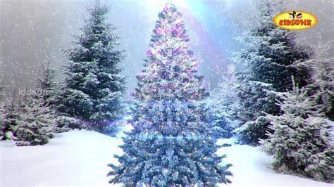 merry christmas  animated christmas tree kidsone youtube
