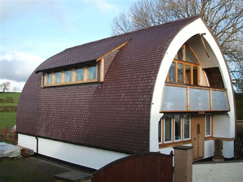 Arched Roof Construction A Curved Roofing Gallery Of Dreadnought Tiles Projects