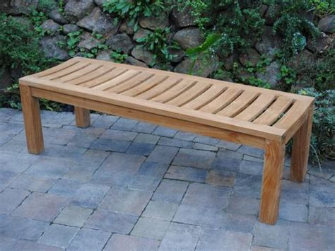 backless bench plans diy backless bench plans outdoor backless bench treenovation