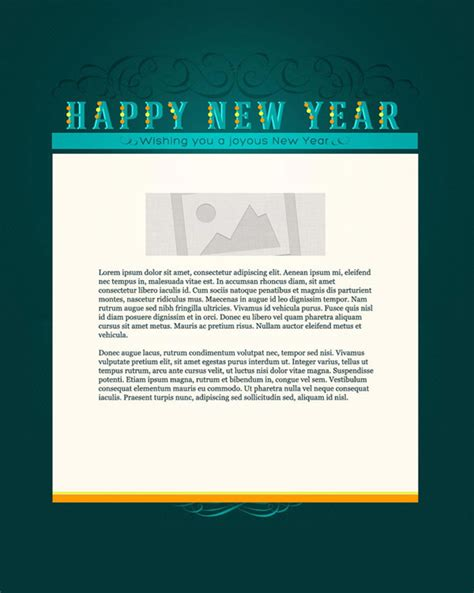 new years email marketing templates new years email