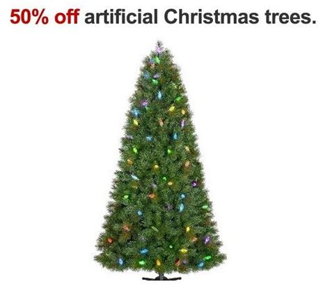 walgreens artificial christmas tree target 50 artificial trees free shipping coupon