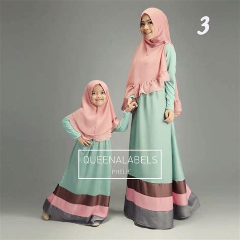 Baju Muslim Gamis Anak Premium Haihai Ga 04 Size 10 Murah phelie 3 baju muslim gamis modern