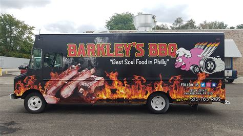 bbq food truck design designing vehicle wraps vehicle ideas