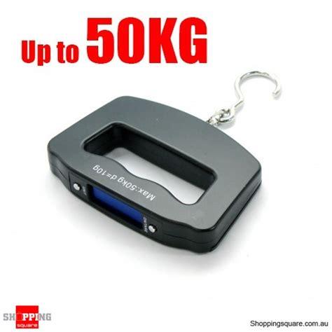 Luggage Handheld Electronic Scales electronic portable digital luggage scale travel 50 kg shopping shopping square