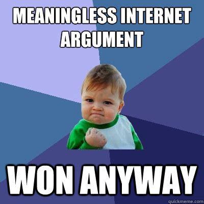 Internet Argument Meme - street philosophy shuhashimoto