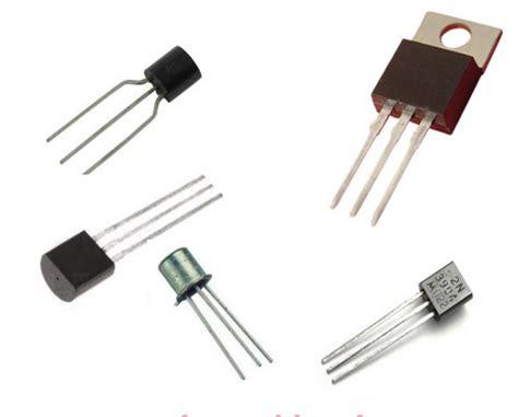 transistor como resistor variavel tipos de transistor