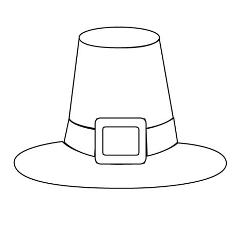 pilgrim hat cut out template search results for boy pilgrim hat template printable
