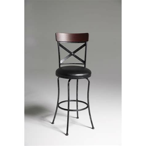 30 Inch Cherry Bar Stools by Black And Cherry 30 Inch Metal And Wood Bar Stool With