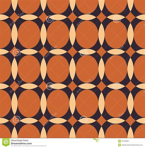 ellipse vector pattern vector pattern with ellipse and hemisphere royalty free