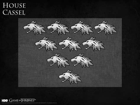 game of thrones house quiz house cassel game of thrones wallpaper 39058458 fanpop