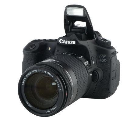 Dslr Canon 60d canon eos 60d dslr 18mp w lens bag 16gb card accessories page 1 qvc