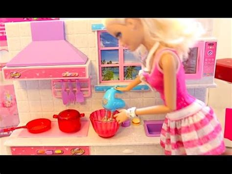 Mainan Kitchen Set Frozen With Doll kitchen set real cooking dreamhouse trouble and frozen magic